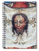 Veronica's Veil Spiral Notebook