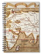 Waldseemuller: World Map Spiral Notebook