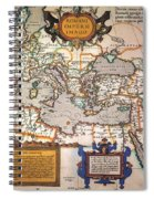 Map Of The Roman Empire Spiral Notebook