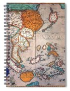 Pacific Ocean/asia, 1595 Spiral Notebook