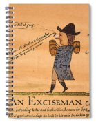 Cartoon: Whiskey Tax, 1794 Spiral Notebook