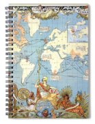 Map: British Empire, 1886 Spiral Notebook