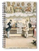 Foolish Forefathers, 1894 Spiral Notebook