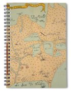 Jolliet: North America 1674 Spiral Notebook