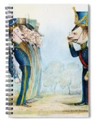 Cartoon: Mexican War, 1846 Spiral Notebook