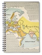 World Map, C1300 Spiral Notebook