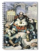 Nast: Tweed's Downfall Spiral Notebook
