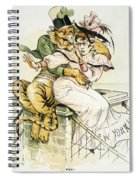 Political Cartoon Spiral Notebook