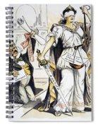 Justice Cartoon Spiral Notebook