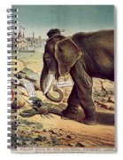 Office Seekers 1885 Spiral Notebook