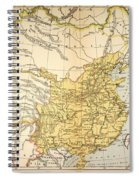 Map: China, 1910 Spiral Notebook