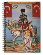 Republic Of Turkey: Poster Spiral Notebook