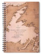 Cook: Newfoundland, 1763 Spiral Notebook