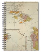 Map: Hawaii, 1905 Spiral Notebook