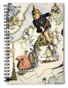 Europe: 1848 Uprisings Spiral Notebook