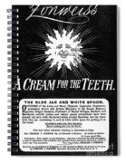 Fonweiss Toothpaste, 1887 Spiral Notebook
