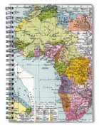 Partitioned Africa, 1914 Spiral Notebook