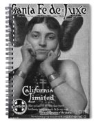 Hairstyle: Hopi, 1911 Spiral Notebook