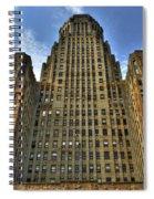 01 Buffalo Ny City Hall Spiral Notebook