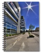 01 Conventus Medical Building On Main Street Spiral Notebook