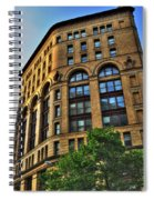 01 Dunn Building At Sunrise Spiral Notebook