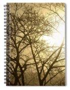 01 Foggy Sunday Sunrise Spiral Notebook