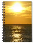 010 Sunset 16mar16 Spiral Notebook