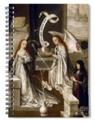 Spain: Annunciation, C1500 Spiral Notebook