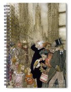 Rackham: City, 1924 Spiral Notebook