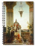 Moreau: King David Spiral Notebook