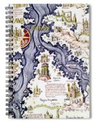 Marco Polo (1254-1324) Spiral Notebook