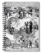Uncle Tom's Cabin, C1899 Spiral Notebook