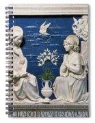 Della Robbia: Annunciation Spiral Notebook