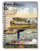 Mississippi Steamboat Spiral Notebook