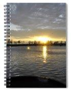 012 April Sunsets Spiral Notebook