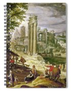 Roman Forum, 16th Century Spiral Notebook
