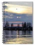013 April Sunsets Spiral Notebook