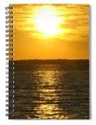 013 Sunset 16mar16 Spiral Notebook