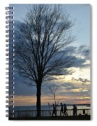 015 April Sunsets Spiral Notebook