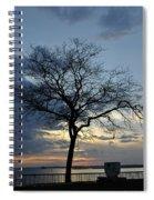 016 April Sunsets Spiral Notebook
