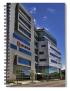 02 Conventus Medical Building On Main Street Spiral Notebook