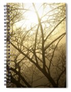 02 Foggy Sunday Sunrise Spiral Notebook