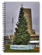 02 Happy Holidays From First Niagara Spiral Notebook