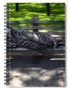 02 Homeless Jesus By Timothy P Schmalz Spiral Notebook