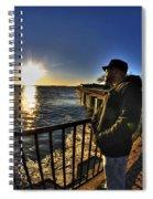 02 Me Sunset 16mar16 Spiral Notebook