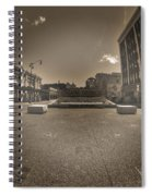 02 Plaza Of Stars Sepia Tone  Spiral Notebook