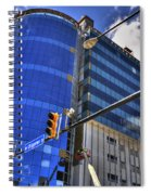 02 W Chipp And Delaware Construction  Spiral Notebook