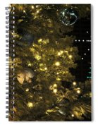 02 Xmas Trees At Canalside And Seneca One Tower Dec2015 Spiral Notebook