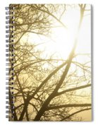 03 Foggy Sunday Sunrise Spiral Notebook
