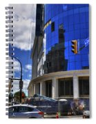 03 W Chipp And Delaware Construction  Spiral Notebook